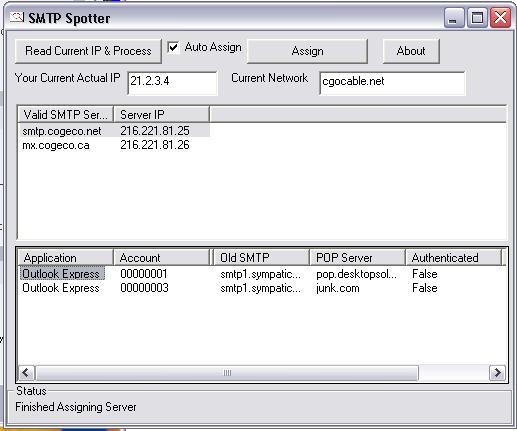SMTP Spotter